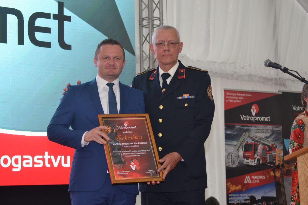 Tvrtka Vatropromet u Desnom Trebarjevu proslavila 25. rođendan
