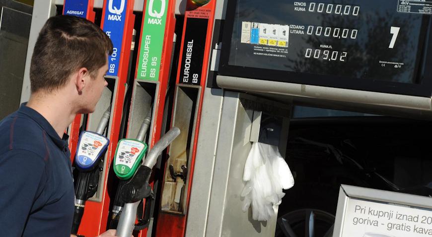 Od jutros niže cijene goriva
