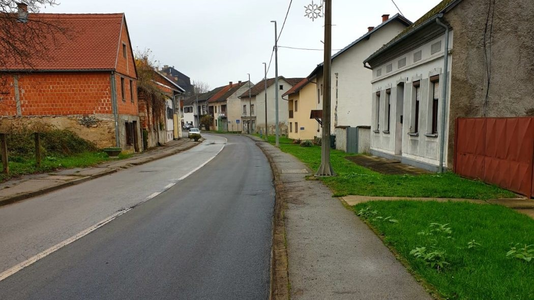 Djeletićeva ulica u Hrvatskoj Kostajnici zasjala u novom ruhu