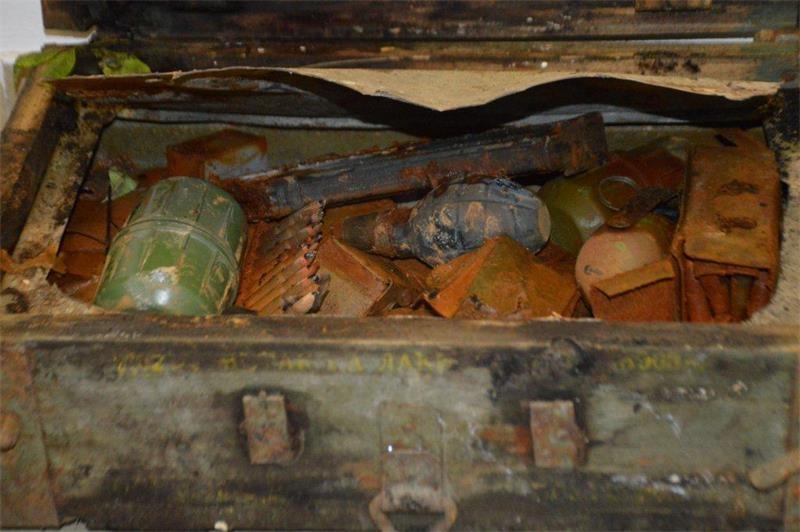Tijekom čišćenja sjenika pronađena veća količina ubojitih sredstava