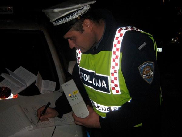 Pijani vozač kroz Strelečko vozio s 1,72 promila