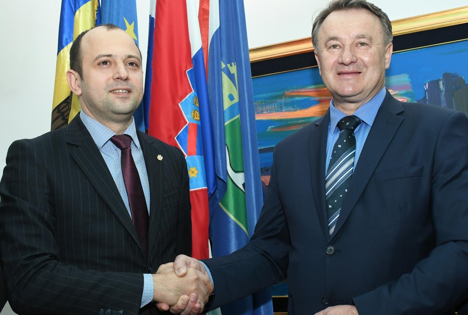 Veleposlanik Republike Moldavije Oleg Tule posjetio Sisačko-moslavačku županiju