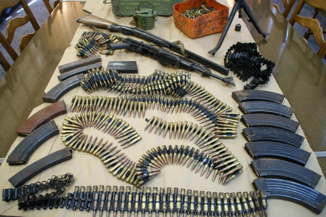 Velika zapljena oružja na području Novske i Majura