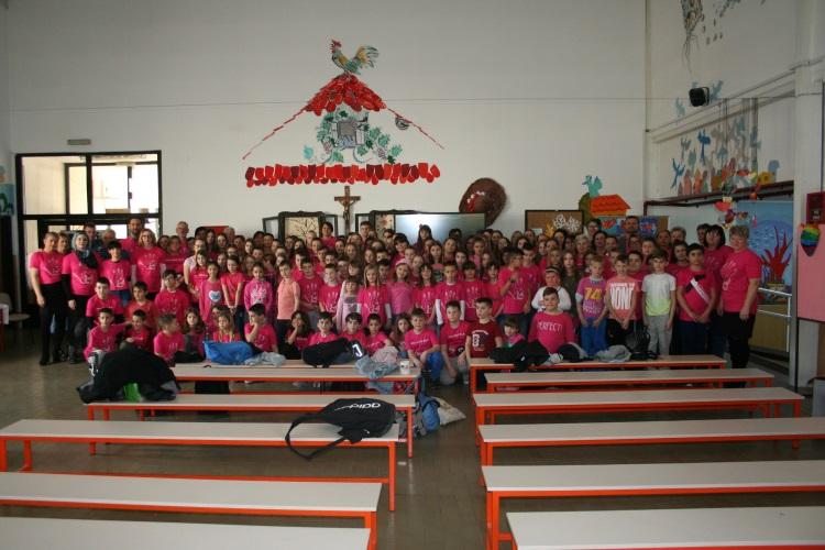 U osnovnim školama diljem Županije obilježen Dan ružičastih majica